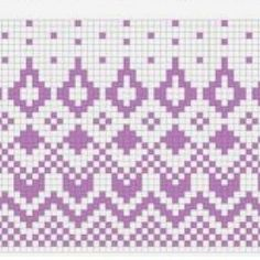 Одноклассники Tapestry Crochet Patterns, Fair Isle Knitting Patterns, Fair Isle Pattern, Knitting Charts, Lace Knitting, Knitting Stitches, Vintage Knitting, Knitting Machine, Cross Stitch Designs