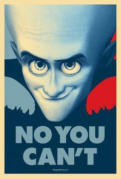 Megamind Propaganda Poster
