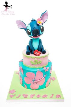 best 25 stitch cake ideas on lilo and stitch Lilo And Stitch Cake, Lilo Et Stitch, Cupcakes, Cupcake Cakes, Stitch Disney, Cherry On The Cake, Character Cakes, Disney Birthday, Disney Cakes