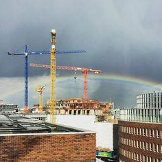 Rainbow over #Hamburg / #ccchh16