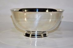 Reed and Barton Paul Revere 8-Inch Silver-plated Bowl 100-year warranty   #ReedBarton