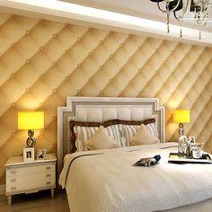 Luxury-Purple-Brown-Faux-Upholstered-Soft-Pack-Wallpaper-Vinyl-Wallpaper