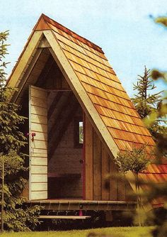 Gable roofs and teepee shapes create charming small house designs that are universally appealing
