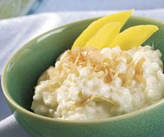 com coconut rice pudding with mango coconut rice pudding with mango ...