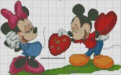 Minnie e topolino love