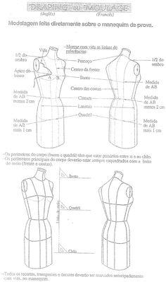 Moda Costurada: Moulage