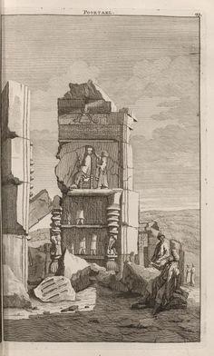 Poortael - Persepolis - 1704 - Cornelis de Bruijn - New York Public Library - Digital Collections