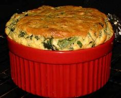 Spinach Soufflé Recipe – Soufflé with Spinach