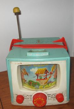 Music Box Television- 60's. I had one...played with it all the time!