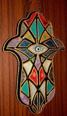 Hamsa! Hand der FATIMA. Kabbalah. von Exklusive Geschenke. auf DaWanda.com