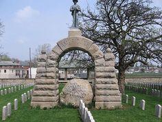 Camp Chase Confederate Cemetery in Columbus, Ohio