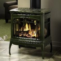 vermont castings stardance direct vent gas stove red bordeaux