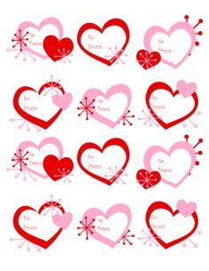 Scrapbook frame holidaysvalentines daypatternsprints best free valentines day printables negle Choice Image