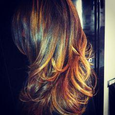 #capelli #nicolacapelli #capellilunghi #sfumato #degrade