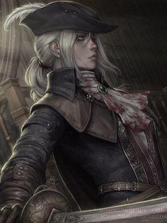 Lady Maria - Bloodborne, Mirco Cabbia (Sciamano240) on ArtStation at https://www.artstation.com/artwork/ZY11m
