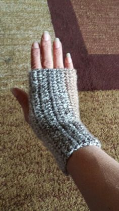Fingerless glove...