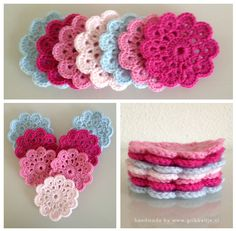 Coasters - crochet