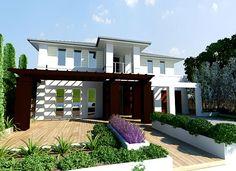 Sekisui House Australia Home Designs: Aron 395 - Natural Facade. Visit www.localbuilders.com.au/builders_south_australia.htm to find your ideal home design in South Australia