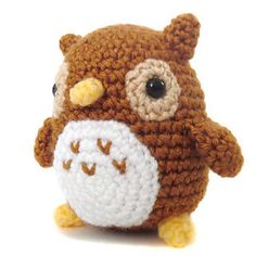 Mini Owl Amigurumi crochet pattern