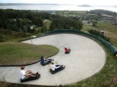 Skyline Luge, Scenic Luge, Rotorua, New Zealand