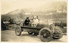 André Boillot et sa Peugeot 174 S, Targa Florio, Sicily - 1924