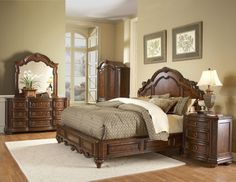 Homelegance Furniture 1390LP Prenzo Elegant Bedroom Set