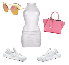 """""""Summer Time Fine"""" by missrouhi on Polyvore featuring NIKE, Fendi, DRKSHDW, summerstyle, summertimefine and summer2016"""