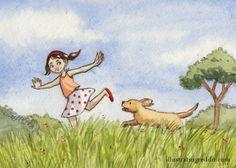 Dog Walking (print $7)
