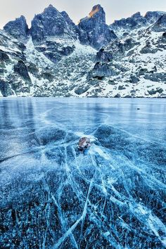 Frosty Rila Mountain, Bulgaria