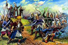 """ottoman-janissaries (yeniçeri) - Dark history of Ottoman Empire   (Osmanlı imparatorluğu  ) : One of the most notorious features of early Ottoman rule was the devsirme (""""collection""""), a tribute of young boys from the empire's Christian subjects. Most of the boys were enrolled in the Janissary Corps, the army of slave-soldiers who were at the forefront of the Ottoman conquests."""