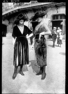 La mode à Longchamp de 1910 à 1920 longchamp course cheval mode 20 665x920