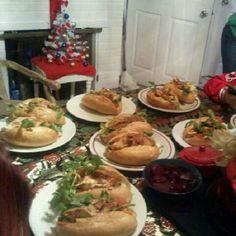 We had salvadorian panes for christmas(: