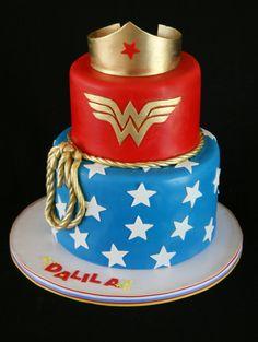 Wonder Woman Cake | Flickr - Photo Sharing!