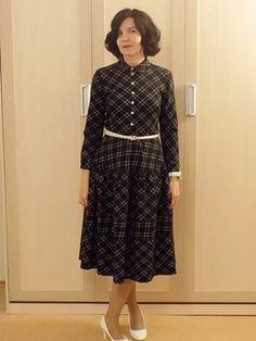 Модели, сшитые по выкройке Платье рубашечного покроя Shirtdress, Dresses For Work, Fashion, Moda, Fashion Styles, Shirt Dress, Fasion