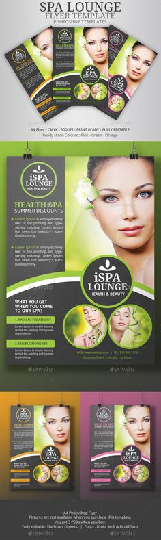 Spa Flyer - Corporate Flyers