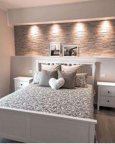 Bedroom Door Design, Home Room Design, Bed Design, Design Bathroom, Room Ideas Bedroom, Home Decor Bedroom, Living Room Decor, Master Bedroom, Bedroom Small