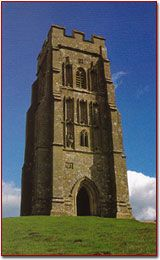 Glastonbury Tor - beneath it lies an ancient elvin city, ruled by the Lord of the Wild Hunt and the Council of Ages.
