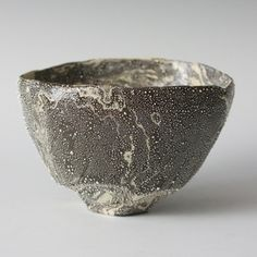 Tsunami Bowl | Porcelain with silver mist over-glaze | Takahiro Kondo, 2012