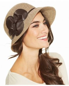 6af180d9dbe Nine West Packable Cloche with Flower Handbags   Accessories - Macy s