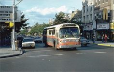 Triboro Coach Bus ran through the neighborhood in the 80's and early 90's before the MTA took over. Pic taken at the corner of Steinway Street and 30th Ave.