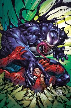 Slab City Comics - UK Comic Shop - Specializing in Exclusive variants Venom Comics, Marvel Venom, Marvel Art, Marvel Heroes, Dc Comics, Spiderman Art, Amazing Spiderman, Hulk Art, Symbiotes Marvel