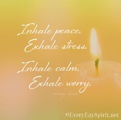 Even a few quiet minutes can bring big calm ~ #silence #meditation everydayspirit.net