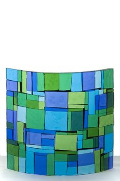 fused glass sconces - Google Search