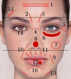 What Do Your Lines and Wrinkles Tell About You Have you known that you can tell a lot about a person by looking at its facial traits? Here is is presented how to read the lines and wrinkles according to Ayurveda, an ancient Indian tradition of healing. Beauty Care, Diy Beauty, Beauty Hacks, The Face, Face And Body, Face Care, Body Care, Make Up Gesicht, Facial Exercises