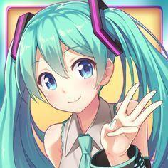 Not mine art Vocaloid, Kaito, Anime Neko, Manga Anime, Anime Art, Loli Kawaii, Kawaii Anime Girl, Anime Girls, Sweet Pictures
