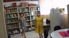 """1ª Amostra de teatro de """"João e Maria"""", o 6º ano A (Anna Gabriely, Jaqueline, Priscila, e Yasmin) Sala de Leitura E. E. Professora Maria Imaculada Cerqueira ..."""