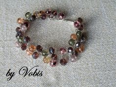 Twisted wire bracelet by Vobis on Etsy, €20.00