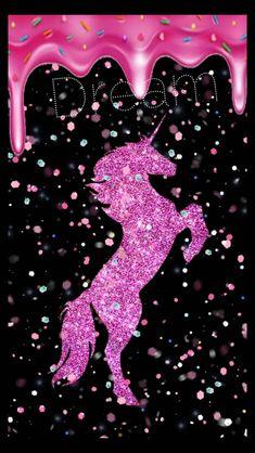 Beautiful unicorn wallpaper by tymberrules - - Free on ZEDGE™ Glitter Phone Wallpaper, Unicornios Wallpaper, Rainbow Wallpaper, Cute Wallpaper Backgrounds, Pretty Wallpapers, Galaxy Wallpaper, Iphone Backgrounds, Black Wallpaper, Iphone Wallpaper Unicorn