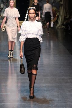 Love. Dolce & Gabbana RTW Fall 2012 - Milan Photo by Piero Cristaldi (WWD)