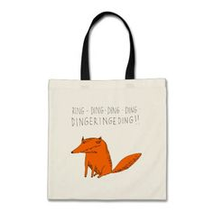 What does the fox say? bags